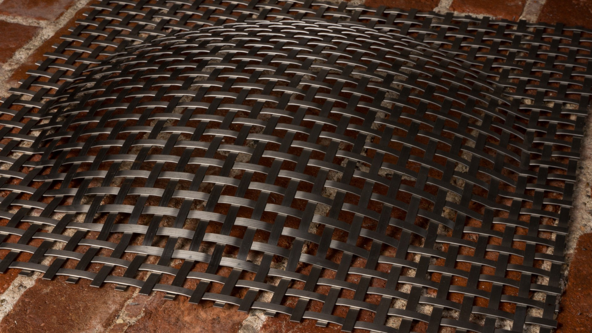 3D Platte Typ Kugelsegmente aus rostfreiem Edelstahl Mesh