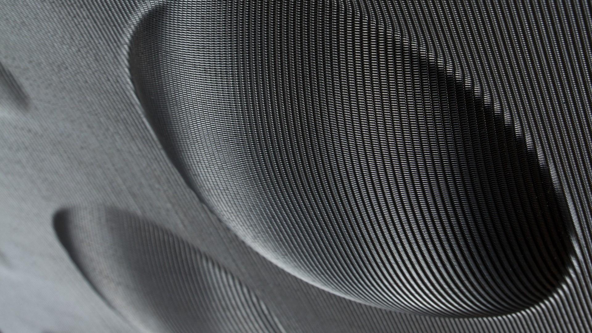 3D Platte Typ Kugelsegmente aus Edelstahlgewebe Placid